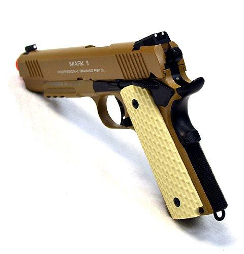 KWA Airsoft Pistol 3 KWA airsoft m1911 ptp mkii gas blow back pistol ns2 desert(Airsoft Gun)