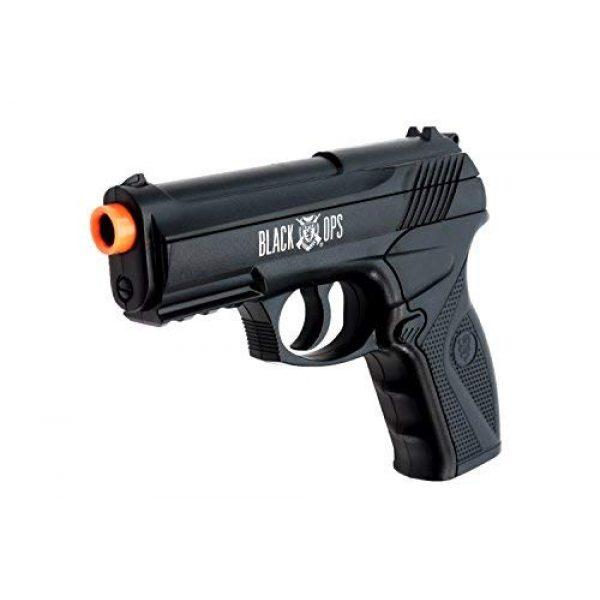 Black Ops Airsoft Pistol 1 Black Ops BOA Semi Automatic Airsoft Pistol - C02 Powered Airsoft BB Pistol - Shoot 6mm BBs