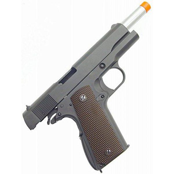 WE Airsoft Pistol 2 WE hi-capa 191 gas blowback full metal - black(Airsoft Gun)