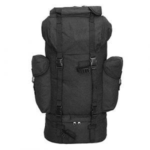 Mil-Tec Tactical Backpack 1 Mil-Tec Black Combat Rucksack 65L