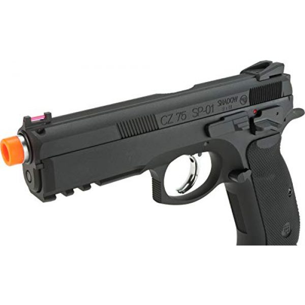 Evike Airsoft Pistol 5 Evike CZ75 SP-01 Shadow Gas Blowback Airsoft Pistol by ASG