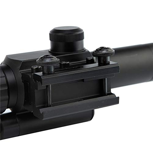 DJym Rifle Scope 4 DJym 4X25 Sight, Universal Sight Hunting Rifle Scope, Waterproof, Anti-Fog and Shockproof