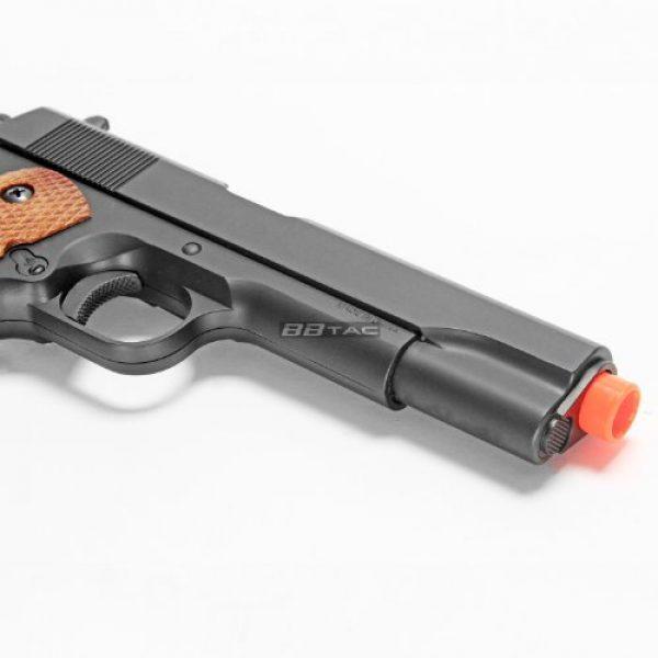 BBTac Airsoft Pistol 6 bbtac m21 airsoft 260 fps metal spring pistol with working hammer and saftey grip(Airsoft Gun)