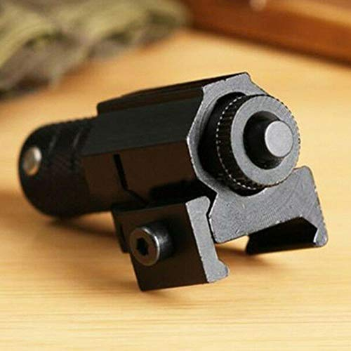 Hendont Rifle Laser Sight 6 Hendont Tactical Red Dot Laser Sight Scope with Mount for Pistol Picatinny Rail New Red Dot Sight Airsoft