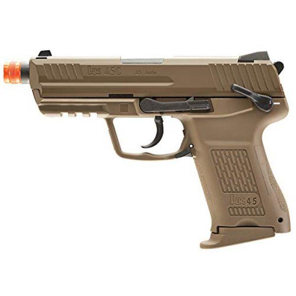 Elite Force Airsoft Pistol 1 Elite Force HK Heckler & Koch HK45 GBB Blowback 6mm BB Pistol Airsoft Gun, FDE