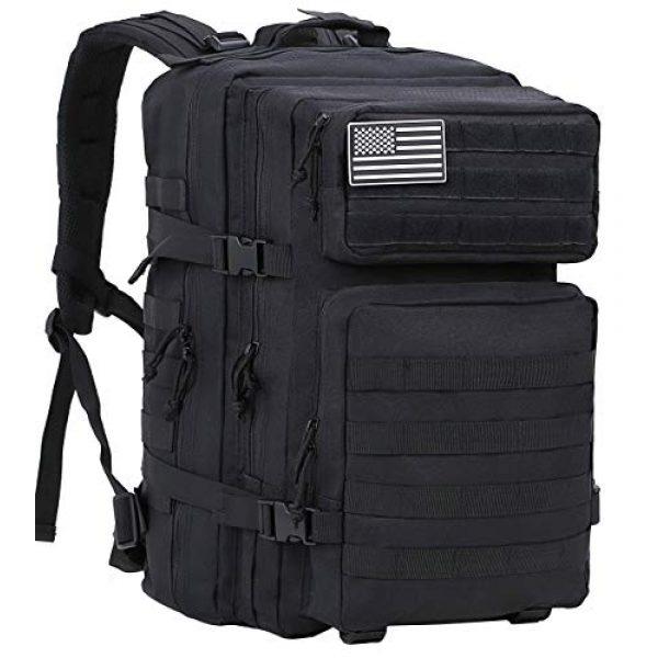 Luckin Packin Tactical Backpack 1 Luckin Packin Tactical Backpack,Military Backpack,Molle Bag 45 Liter Large 2 Pack