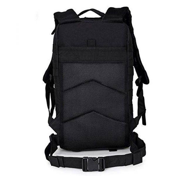 Cadet Gear Tactical Backpack 2 Tactical Assault Pack, Black Military Backpack, Army Survival Molle 35L, 40L