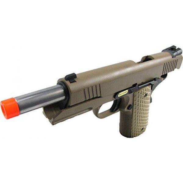 WE Airsoft Pistol 3 WE combat 191 gas blowback full metal - tan(Airsoft Gun)