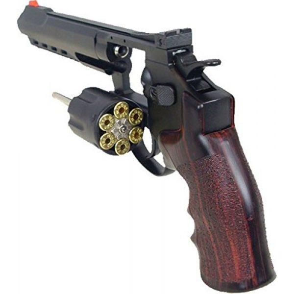 "Boomingisland Airsoft Pistol 3 Boomingisland Wingun 702 6"" Airsoft CO2 Revolver Black"