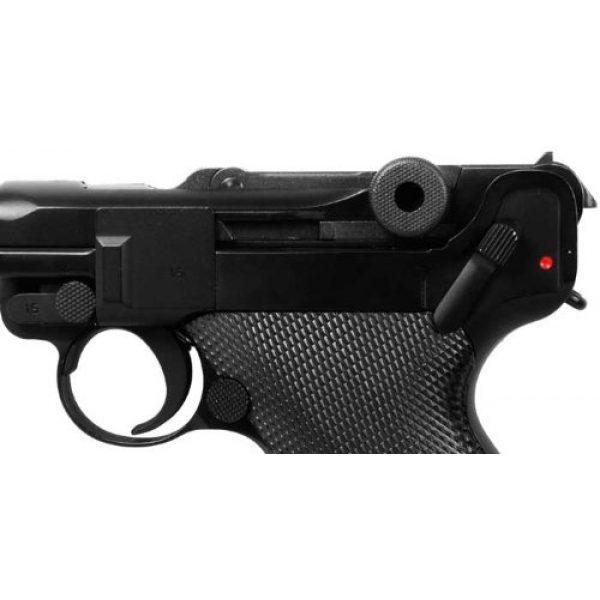 WE Airsoft Pistol 4 WE p08 metal gas 4 inch barrel airsoft pistol airsoft gun(Airsoft Gun)