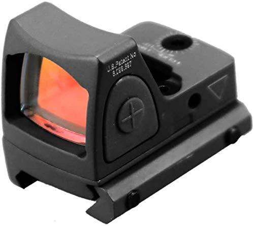 TTHU Rifle Scope 1 TTHU Red Dot Sight Scope Optical Micro Reflex Sight Rifle Scope Fit 20Mm Weaver Rail for Hunting Scopes