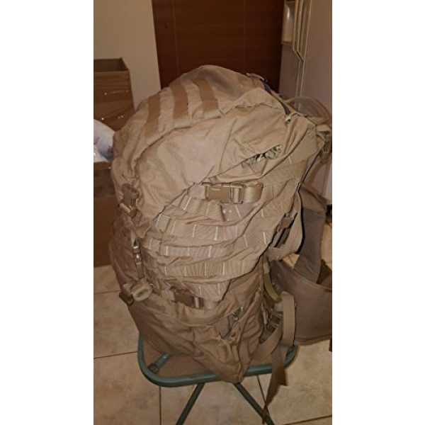 Eagle Tactical Backpack 4 Eagle FILBE USMC Main Pack Coyote Brown with Frame and Waist Belt