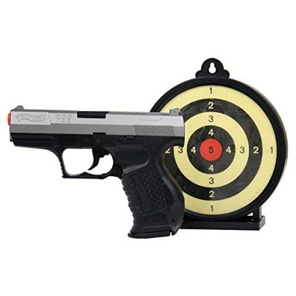 Elite Force Airsoft Pistol 1 Umarex P99 Bi-Color Action Kit w/ Target Airsoft, Black/Grey