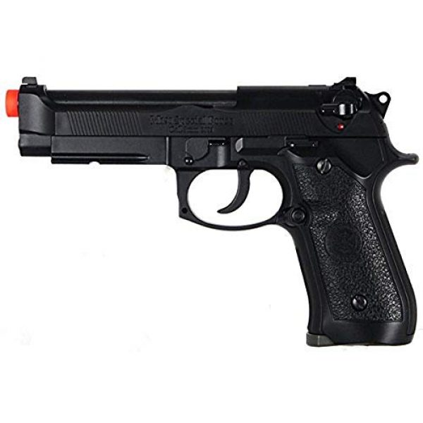 HFC Airsoft Pistol 1 HFC HG-190 Airsoft GBB BLOWBACK CO2 Pistol Black M190 with Gun Case