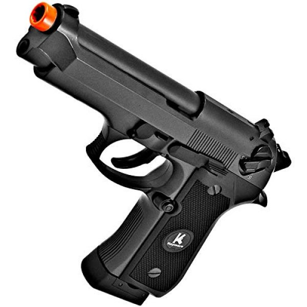 HFC Airsoft Pistol 2 HFC HG194 Army Special Force Airsoft CO2 Gas GBB Pistol Gun Full Metal with Case