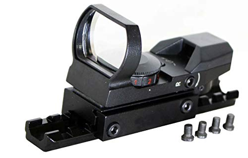 TRINITY Rifle Scope 1 TRINITY Reflex Sight and Base Mount for Marlin 336 Rifle Picatinny Weaver Base Mount Adapter Aluminum Black Hunting Optics Mount Tactical Home Defense Accessory Single Rail.