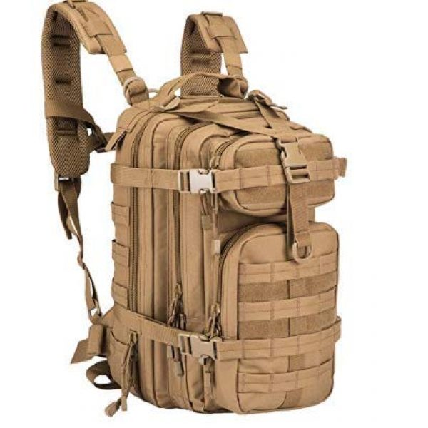 Circadus Tactical Backpack 1 Circadus Military Style Outdoor Hiking Backpack. Compact Tactical Travel Rucksack for Camping, Hunting, Hiking, Trekking, School. Unisex
