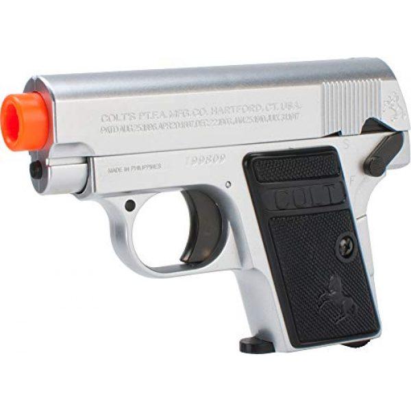 CyberGun Airsoft Pistol 1 Colt 25 Silver airsoft gun