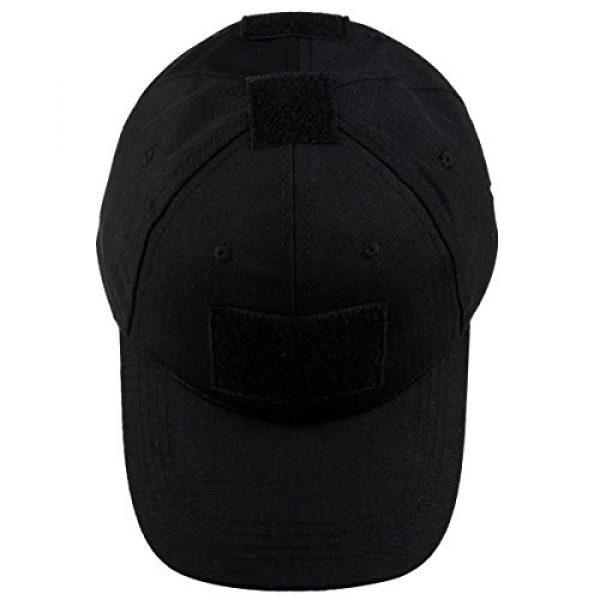 squaregarden Tactical Hat 2 squaregarden Operator Tactical Cap Camo Baseball Caps Hats with Tactical USA Flag Patches
