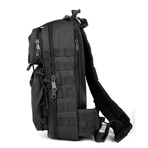 ABENAKI Tactical Backpack 5 ABENAKI Tactical Sling Bag Pack Military Rover Shoulder Backpack Bowmen Bag