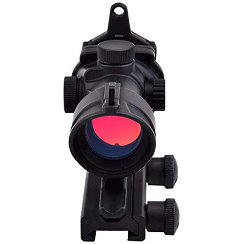 TTHU Rifle Scope 5 TTHU Rifle Scope Red Green Dot Sight Without Markings with 20MM Rail for Airsoft Game Rifle Scope for Hunting