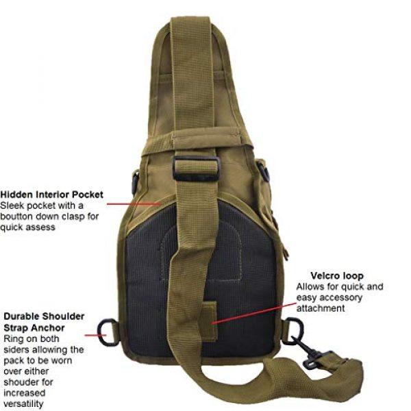 FAMI Tactical Backpack 4 FAMI Outdoor Tactical Bag Backpack, Military Sport Bag Pack Sling Shoulder Backpack Tactical Satchel for Every Day Carry