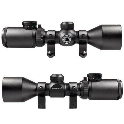 BARSKA Rifle Scope 2 BARSKA 3-9x42 IR Contour Dual Color Reticle 30/30 IR Riflescope