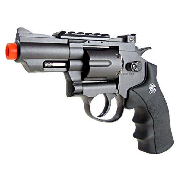 TSD Tactical Airsoft Pistol 1 TSD tactical - sdcnr708bb - tsd/wg model 708 co2 gas black revolver(Airsoft Gun)
