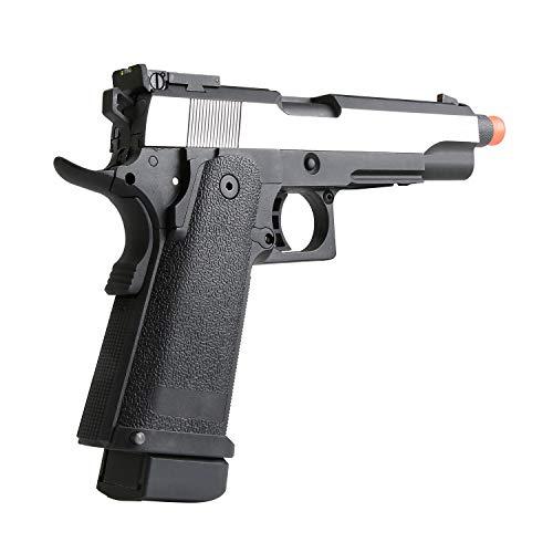 SRC Airsoft Pistol 6 SRC Hi-Capa 5.1 Dual Tone Co2 Airsoft Pistol Matte Finish [Airsoft Blowback]