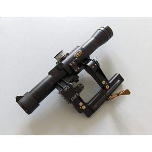 Kalinka Optics Rifle Scope 1 Kalinka Optics POSP 4x24, BDC, 1000m Modern Rangefinder, AK/VEPR