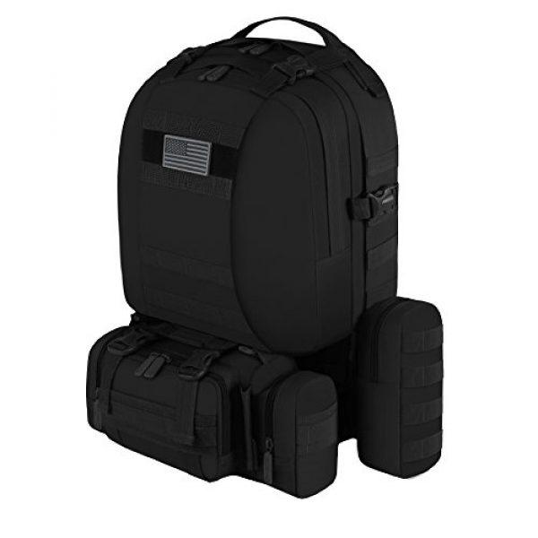 East West U.S.A Tactical Backpack 2 East West U.S.A RT505 Tactical Molle Military Rucksacks Assault Combat Trekking Bag