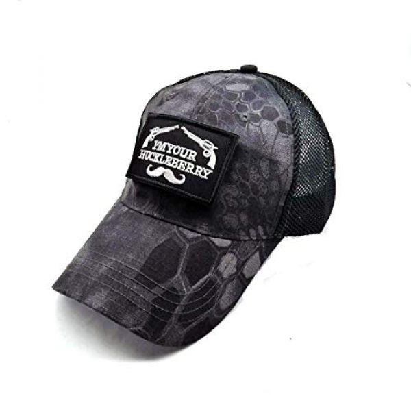 Uphily Tactical Hat 4 Uphily Military Patch Hat, Operator Cap, Tactical Army Hats for Men