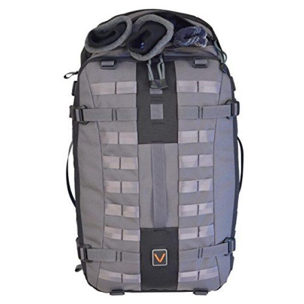 VITAL GEAR Tactical Backpack 2 VITAL GEAR Air Rover Modular Adventure Travel Backpack, Black, Medium/40mm