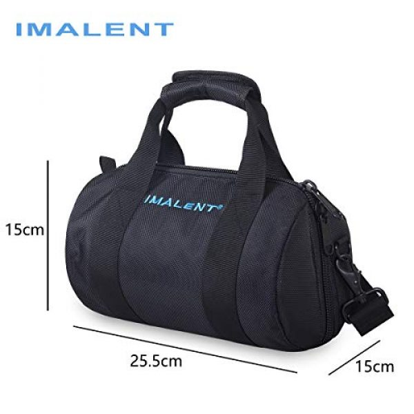 IMALENT Tactical Backpack 2 IMALENT MS12 Bag Outdoor Tactical Bags Utility Pouch, Waterproof Messenger Shoulder Bag EDC Pouch Carrying Case for DX80,R90C, MS18, R90TS and Electronic Product