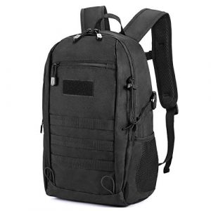 CamGo Tactical Backpack 1 20L Tactical Backpack Small Military Gear Assault Pack MOLLE Hiking Daypack