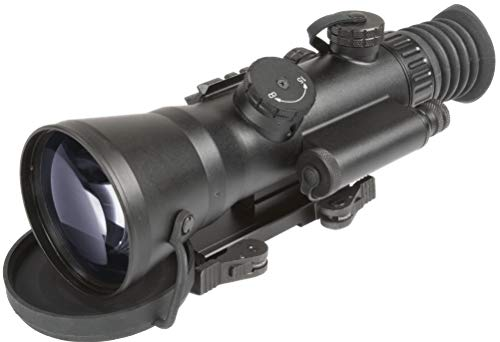 "PRG Defense Rifle Scope 1 PRG Defense 15WOL422103021 Model Wolverine 4 NL2 Gen 2+""Level 2"" Night Vision Rifle Scope with Sioux850 Long-Range Infrared Illuminator, 4X Magnification, 10m to Infinity Focus Range"