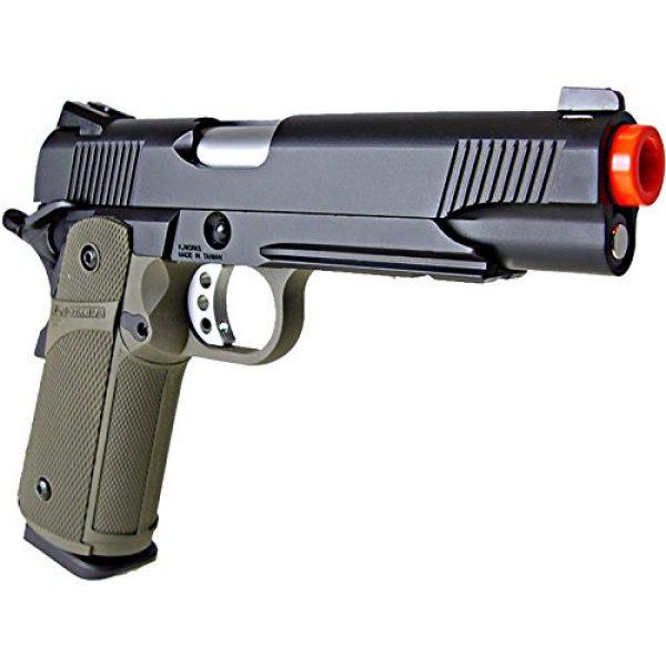 KJW Airsoft Pistol 4 KJW model-615g kp05-s gas/co2 blowback full metal/od green(Airsoft Gun)