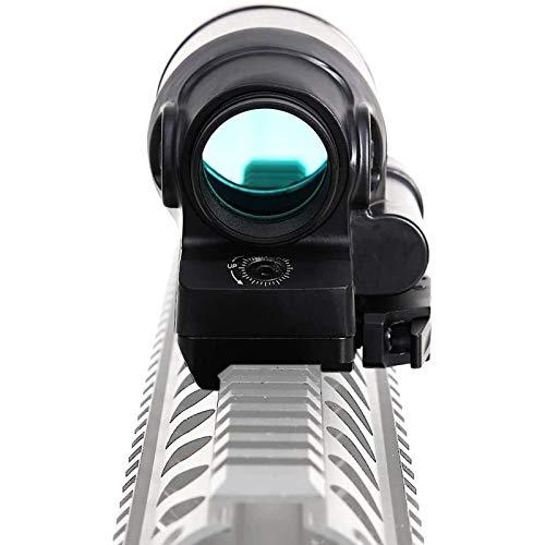 TTHU Rifle Scope 5 TTHU Rifle Scope Red Dot Sight Scope Holographic Reflex Sight Solar Power System Optics Rifle Scope Tactical Riflescopes for Hunting