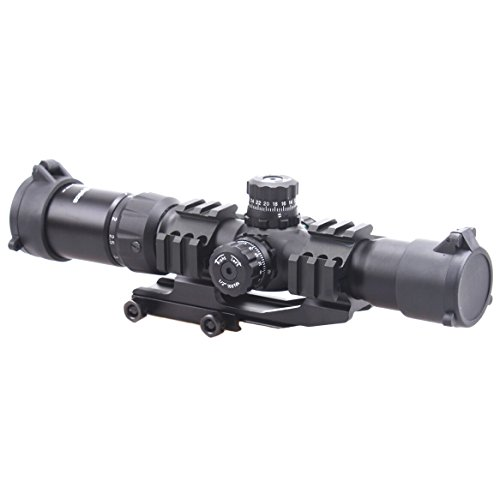 Vector Optics  2 Vector Optics 1.5-4x30mm 1/2 MOA Tactical Riflescope with Red