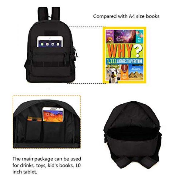 ArcEnCiel Tactical Backpack 6 ArcEnCiel Kid's Tactical Backpack with Patch