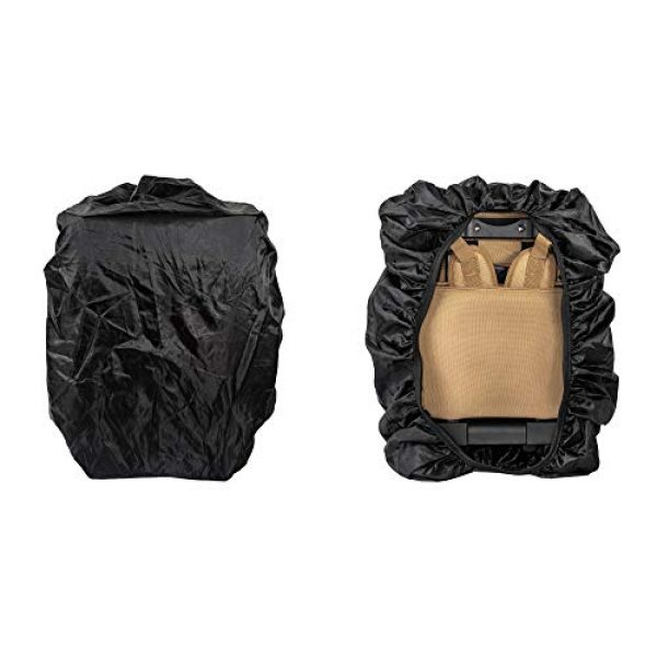 """Calissa Offshore Tackle Tactical Backpack 6 Calissa Offshore Tackle Backpack -""""Apollo 2"""" Tactical Rolling Pistol Case Gun Range Bag for Shooting Gear, Ammo, Hunting Supplies, Firearms Storage, Fishing Equipment """" 5 Pouch Compartment Organizer"""