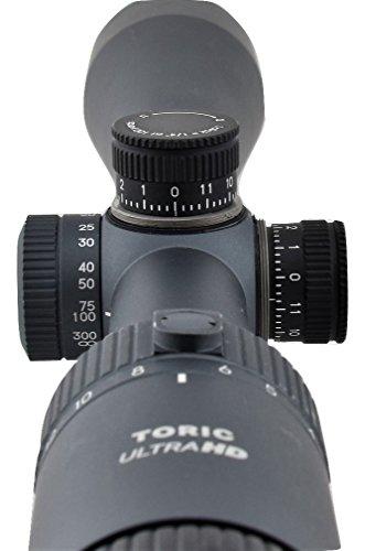 Tract Rifle Scope 4 Tract Toric 3-15x42 Riflescope w/T-Plex Reticle - The Ultimate in Long Range Hunting Optics