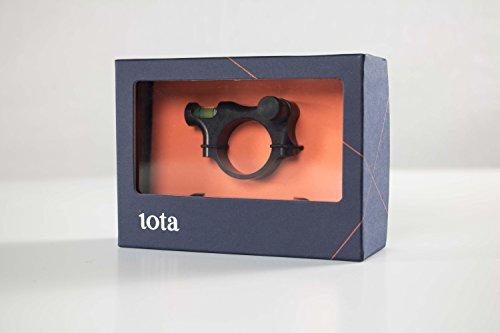 IOTA Rifle Scope 2 IOTA Anti-Cant Scope Level with LED Turret and Bubble Illumination - 30mm, 34mm, 1 inch - ZEROLIGHT Scope Ring Outdoors