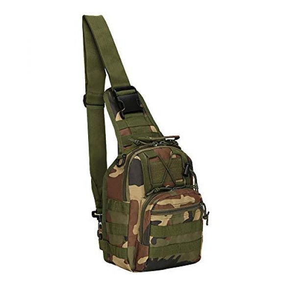 MeiMonkey Tactical Backpack 1 MeiMonkey 600D Outdoor Bag Military Tactical Backpack Shoulder Camping Hiking Bag Camouflage Hunting Crossbody Backpack
