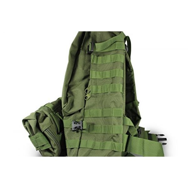 Turtle Creek Gear LLC Tactical Backpack 3 Turtle Creek 50L Hiking Backpack - Durable Tactical Backpack with 1000D Nylon - Water Resistant Camping Backpack - Sturdy Tactical Rucksack for Hunting and Trekking - Military Backpack