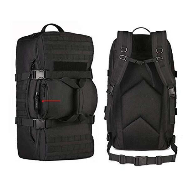 CREATOR Tactical Backpack 4 CREATOR 60L Tactical Backpack Molle Travel Luggage Bags Camping Daypack Duffle Bag