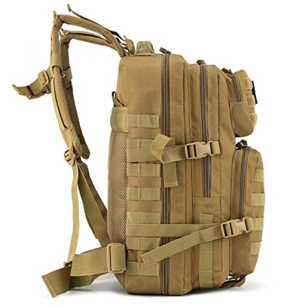 Barbarians Tactical Backpack 2 Barbarians Upgraded 35L Tactical Molle Backpack, Military Assault Pack Rucksack for Outdoor Hiking Camping Trekking Hunting