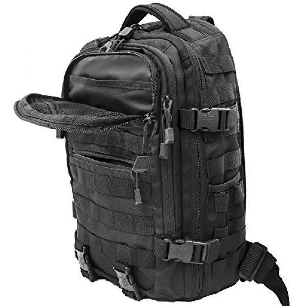 UTG Tactical Backpack 5 UTG Ambi 24/7 Cross Body Shoulder Vital Sling Pack, Black