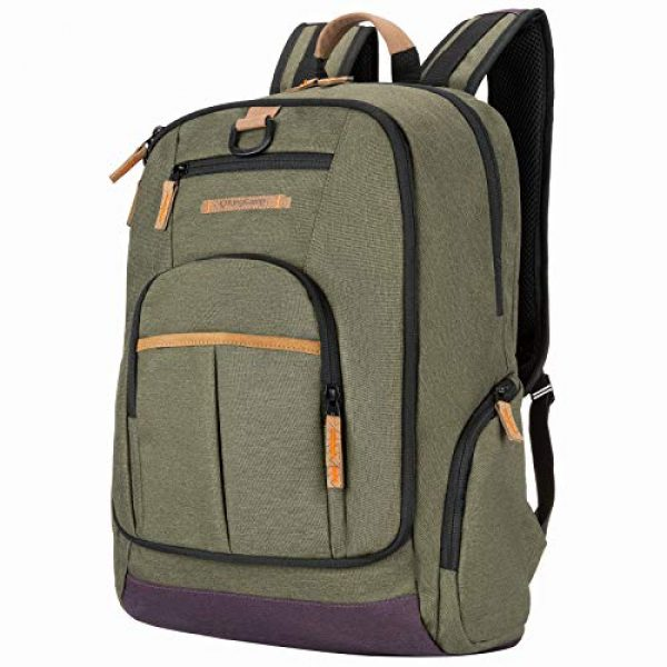 KingCamp Tactical Backpack 1 KingCamp Waterproof Laptop Backpack 17.3 inch for Women & Men Casual Daypack Backpack