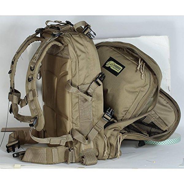 VooDoo Tactical Tactical Backpack 6 VooDoo Tactical Men's Deluxe Professional Special Ops Field Medical Pack, Coyote